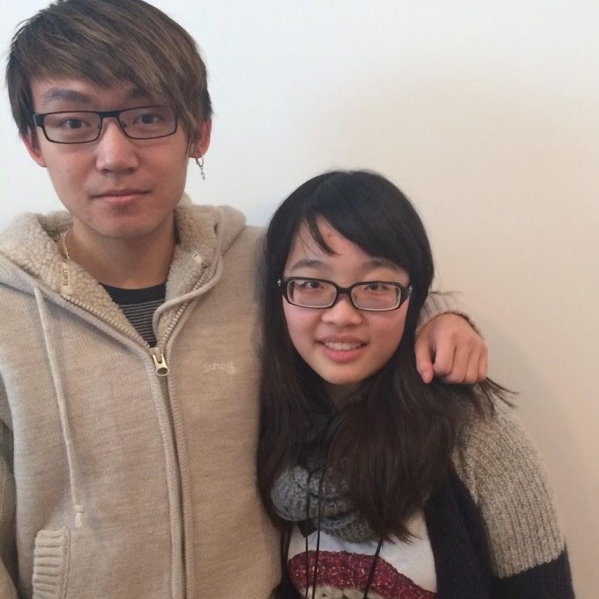 Original Japan Top 10 hosts, Tim and Sandra (2013-2015).