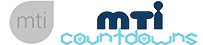 MTI Countdowns Mobile Logo